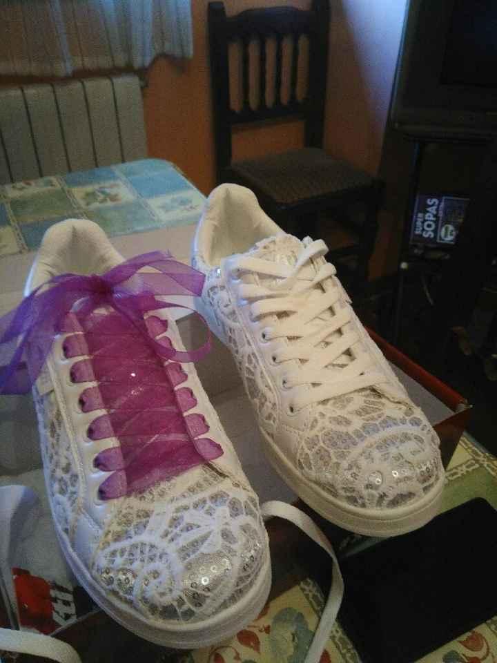 Mis zapatillas de novia. - 1