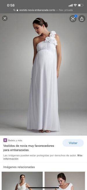 Boda embarazada 6