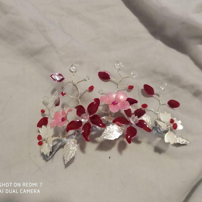 ¿Tocados joya y/o metálicos o florales? - 1