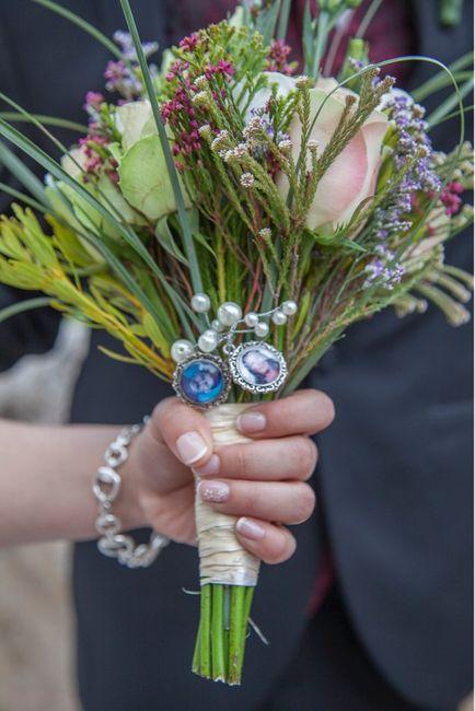 El camafeo para mi ramo de novia!!! - 1
