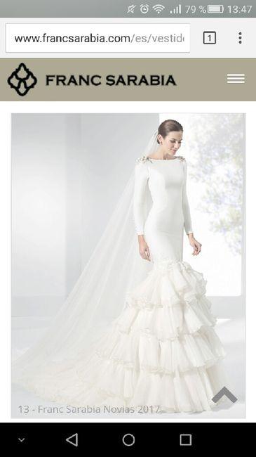 precio franc sarabia - moda nupcial - foro bodas