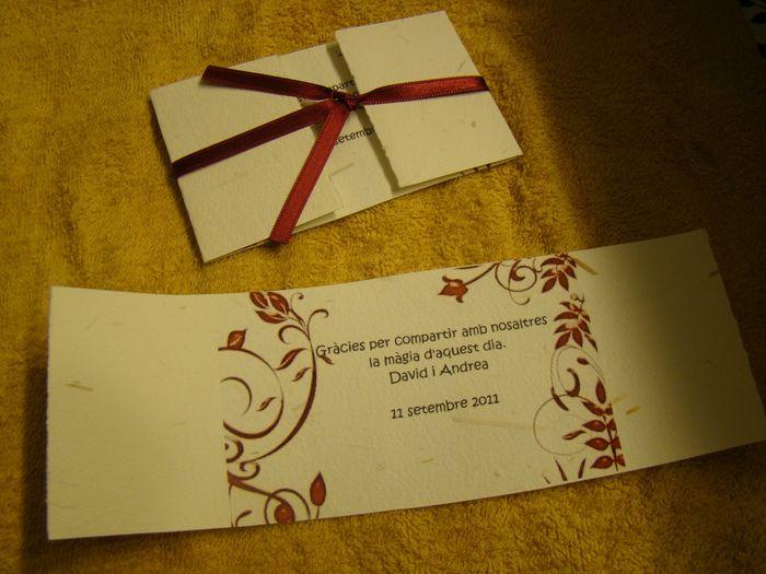 Plantillas para tarjetas de agradecimiento 1