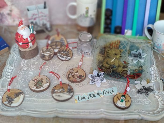 Busco bolas de Navidad económicas!!! 3