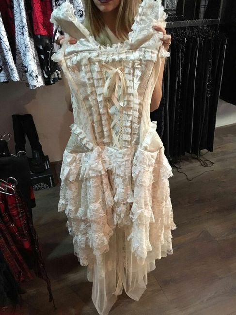 vestidos goticos - barcelona - foro bodas