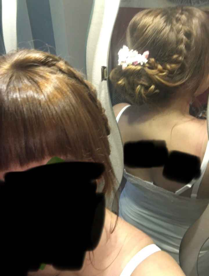 Peinado con flequillo - 1