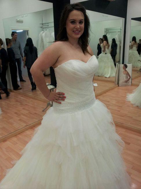 c7a8e6b52 Mi vestido de novia!!! - Moda nupcial - Foro Bodas.net