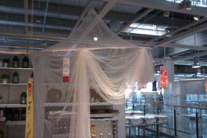 cortina mosquitera ikea
