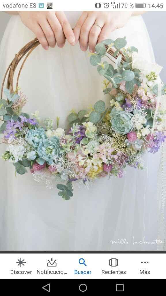 Alternativas a ramos de novia - 1