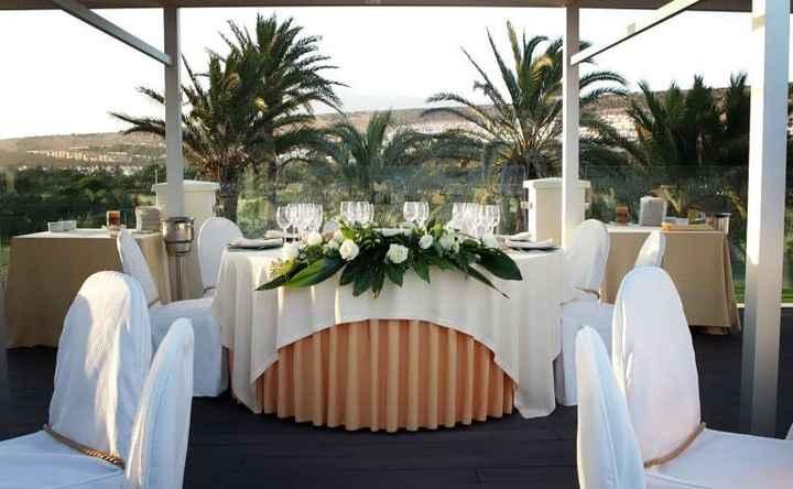 mi mesa de boda