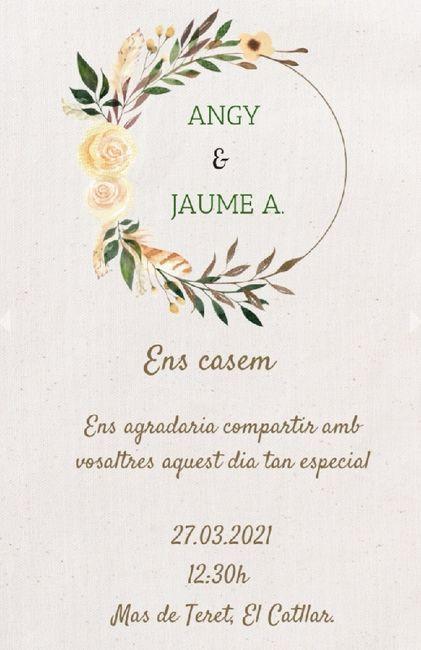 Mis invitaciones de boda 1