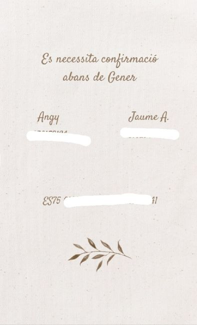 Mis invitaciones de boda 2