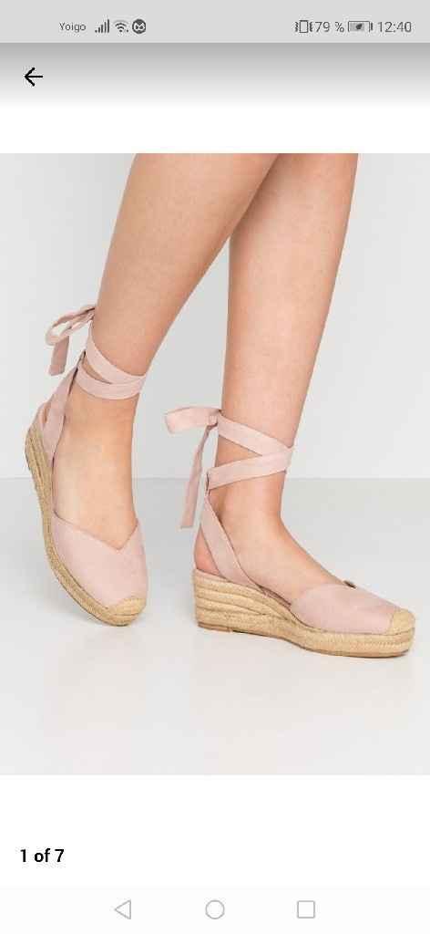 Zapatos de novia muy cómodos - 1