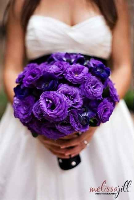 Ramo de flores lilas