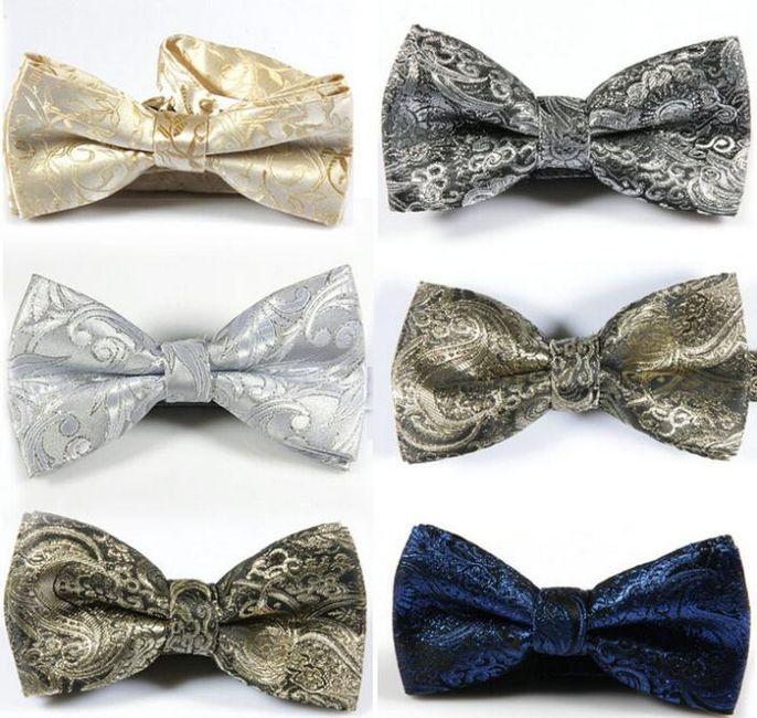 Corbatas y pajaritas para novios atrevidos - 5