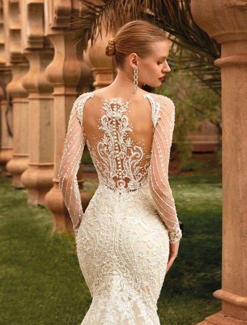 ¿Cómo es la espalda de tu vestido? 2