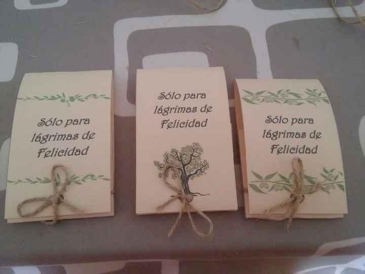 Pañuelos para Lagrimas de Felicidad