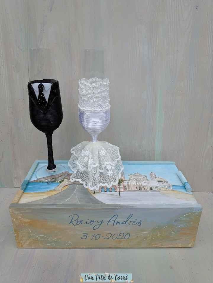 Mis copas de boda + caja - 2