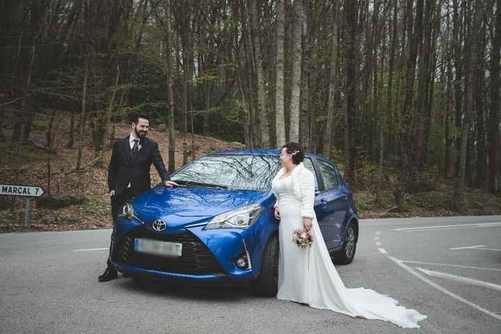 El coche de boda será nuestro coche - 1