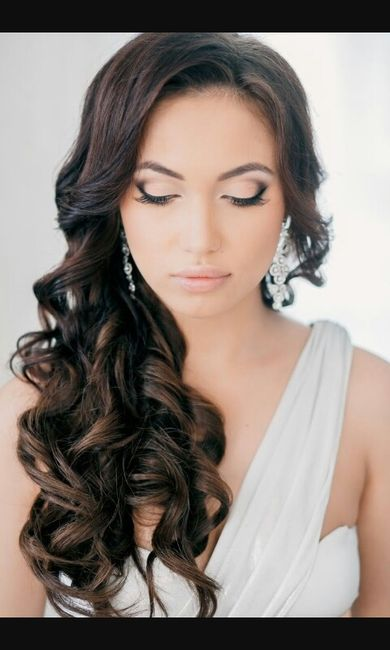 Peinado semi recogido de lado Belleza Foro Bodasnet