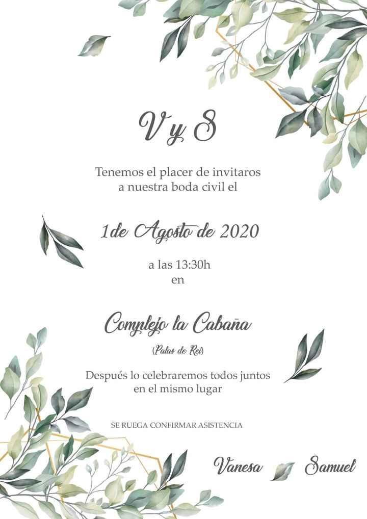 invitaciones boda - 2