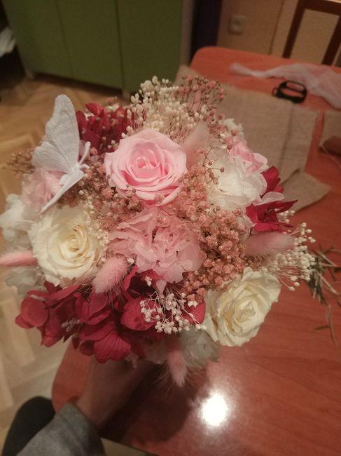 Ramo flores preservadas 2
