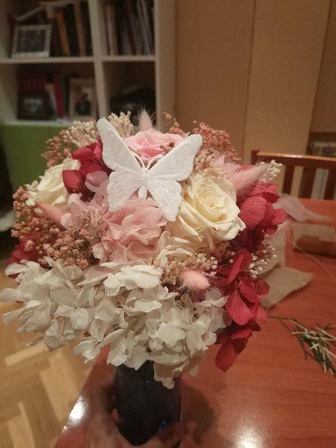 Ramo flores preservadas 3