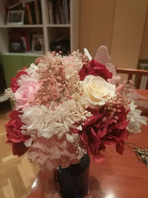 Ramo flores preservadas 4