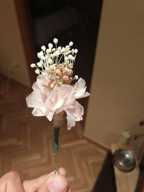 Ramo flores preservadas 6