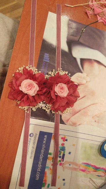 Ramo flores preservadas 7