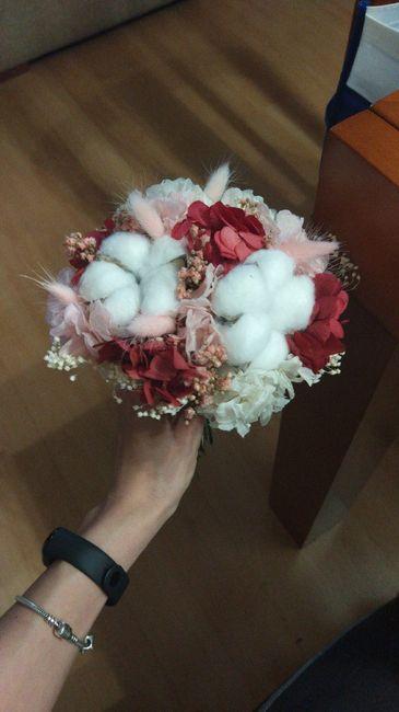 Ramo flores preservadas 9