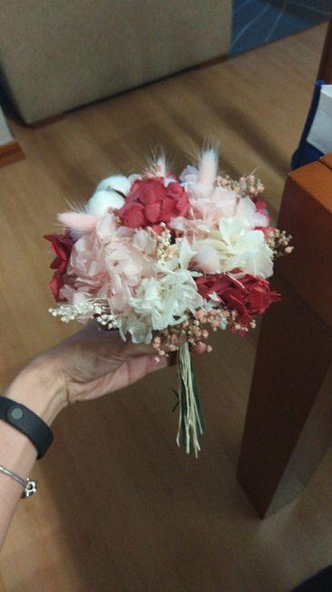 Ramo flores preservadas 10