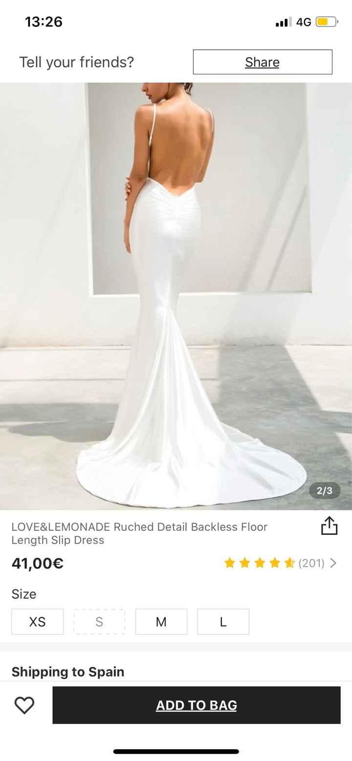Vestido novia -500€ - 2