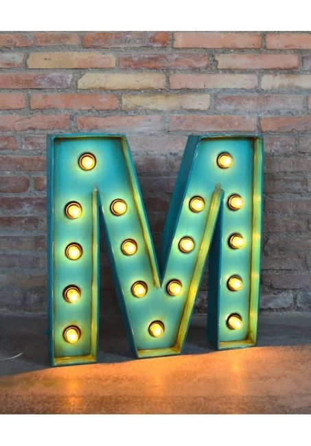 Plantilla o medidas para letras luminosas manualidades - Letras luminosas decoracion ...