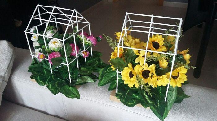 Jaulas con flores - 1