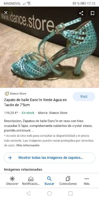 Sandalias verde agua 21