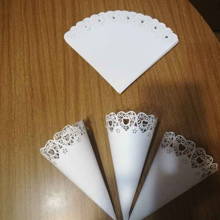 Cositas:conos para arroz - 1