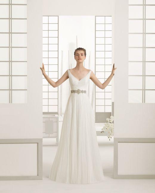 Vestido Danes colección Rosa Clará 2016