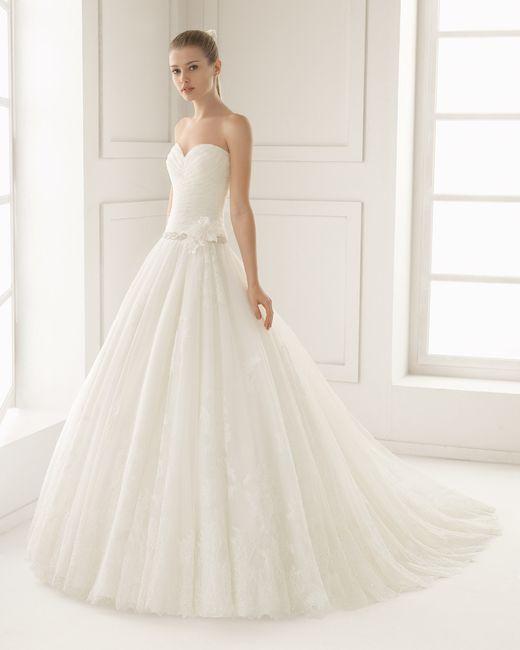 Vestido Elite colección Rosa Clará Two 2016