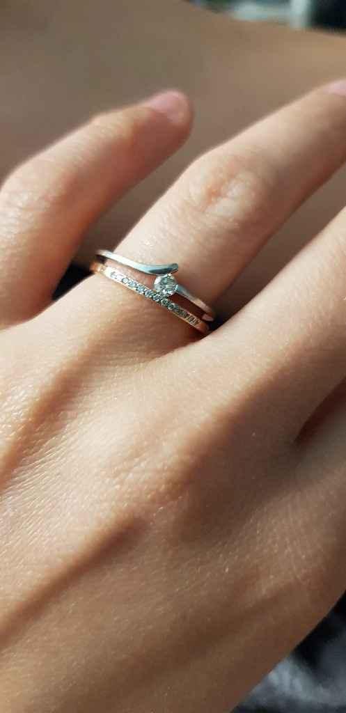 ¿Tuviste anillo de pedida? - 1