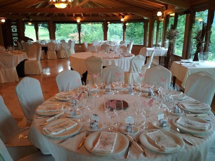 Nombre de invitados en las mesas 13