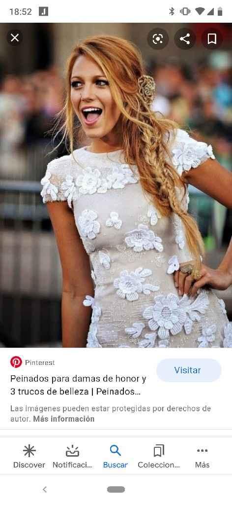 Peinado - vestido espalda especial - 3