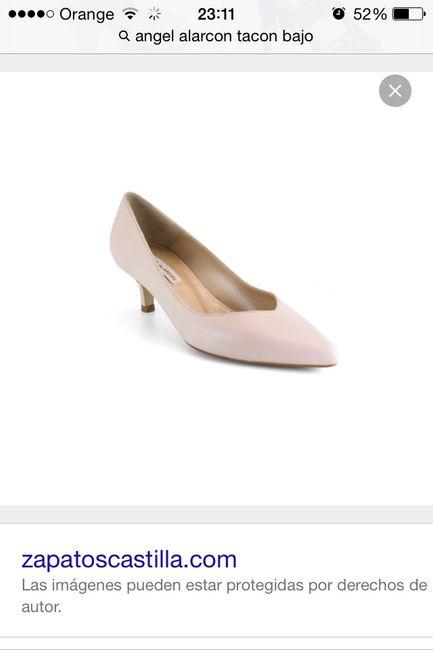 zapatos de novia bajitos. - sevilla - foro bodas