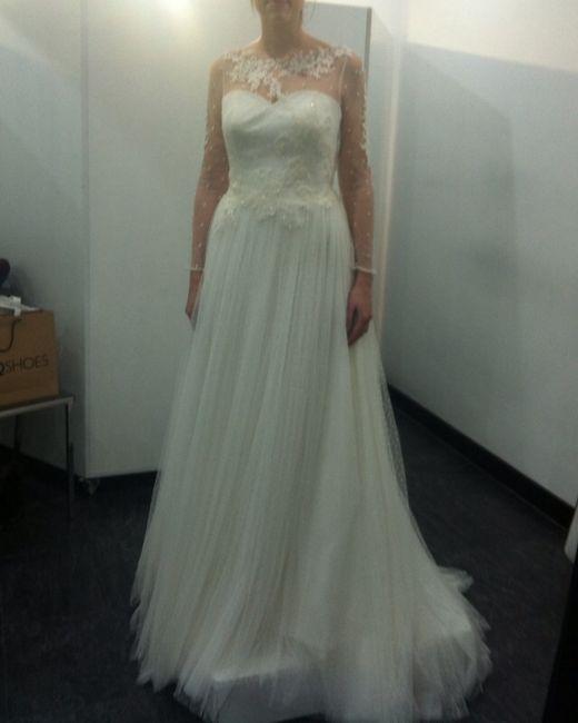 En la primera prueba, ya no me gusta mi vestido!!! opiniones sinceras - 1