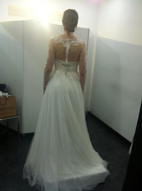 En la primera prueba, ya no me gusta mi vestido!!! opiniones sinceras - 2