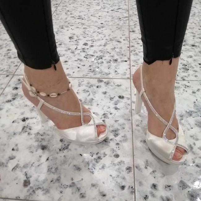 Que tipo de zapatos os vais a poner el día de vuestra Boda? 7