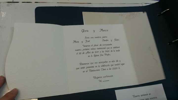 Entre dos invitaciones - 2