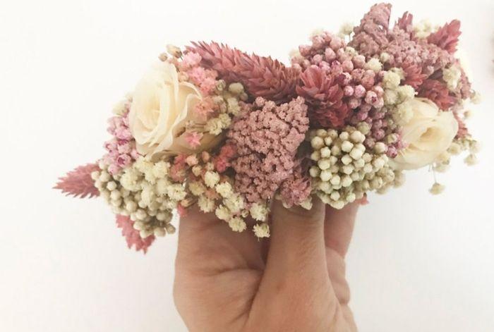 ¿Tocados joya y/o metálicos o florales? 1