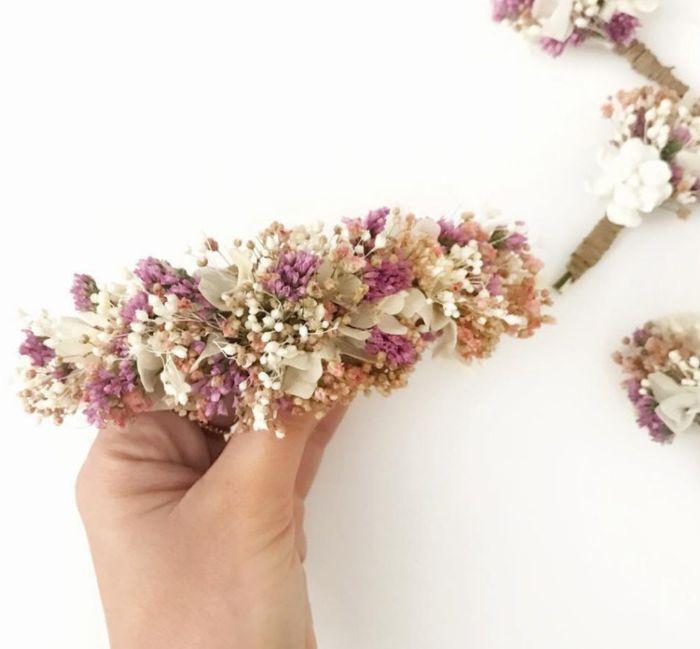 ¿Tocados joya y/o metálicos o florales? 2