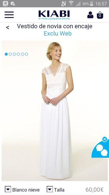 vestido novia kiabi - moda nupcial - foro bodas