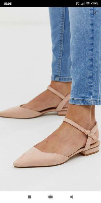 Zapatos planos o con muy poco tacón 3